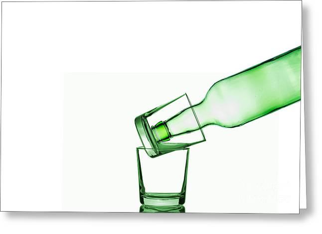 Glass Art Greeting Card
