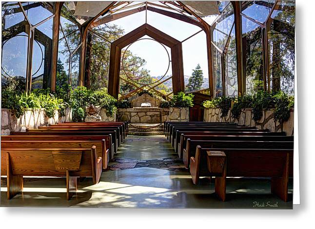 Glass Chapel Greeting Card
