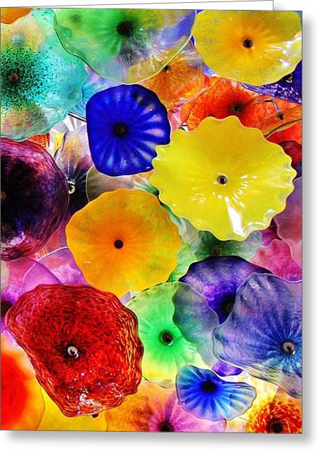 Glass Garden 3 Of 3 Greeting Card by Benjamin Yeager