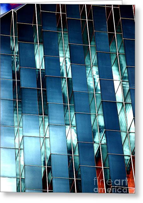 Glass House II Greeting Card by Christiane Hellner-OBrien