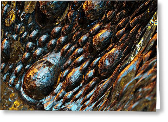 Glass Works 19 Greeting Card by Randy Grosse