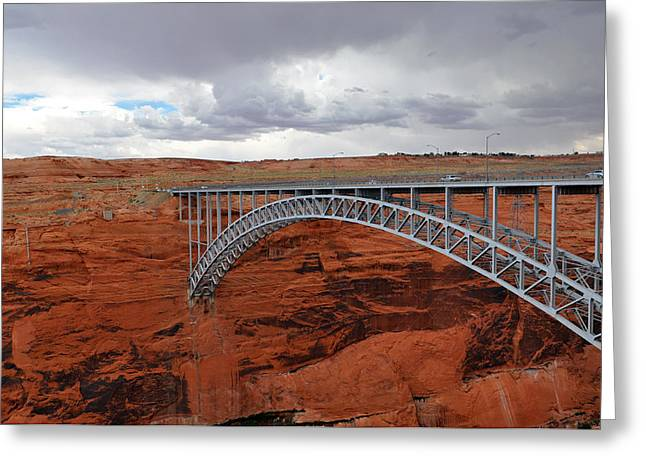 Glen Canyon Bridge Greeting Card