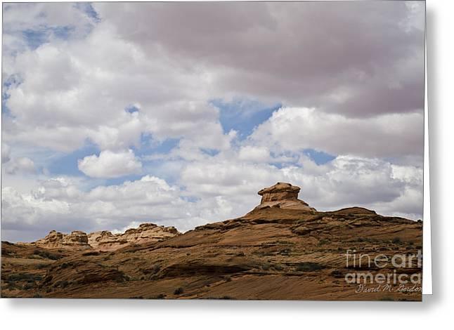 Glen Canyon Page Az No. 2 Greeting Card by Dave Gordon