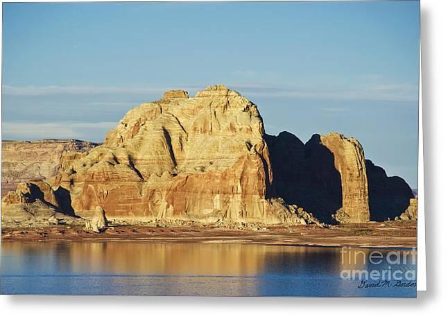 Glen Canyon Page Az Vii Greeting Card by Dave Gordon