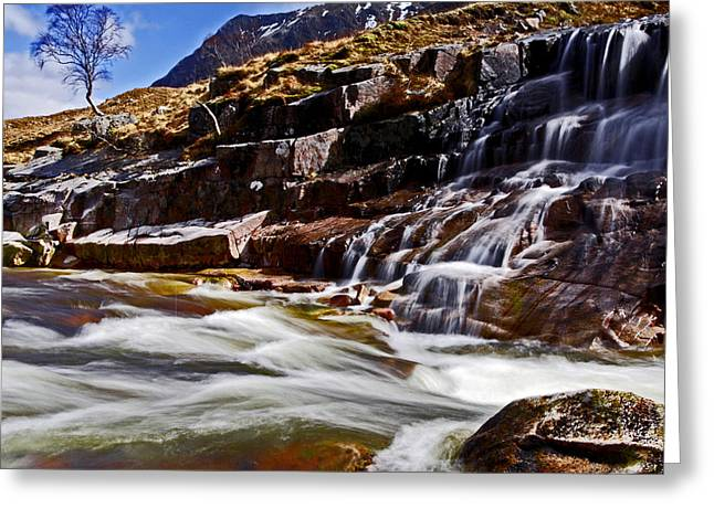Greeting Card featuring the photograph Glen Etive by Craig B
