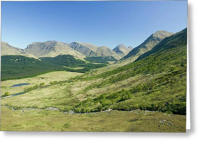 Glen Etive In Scotland Greeting Card by Ashley Cooper