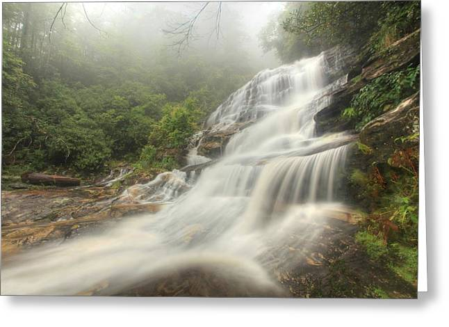 Glen Falls Greeting Card by Doug McPherson