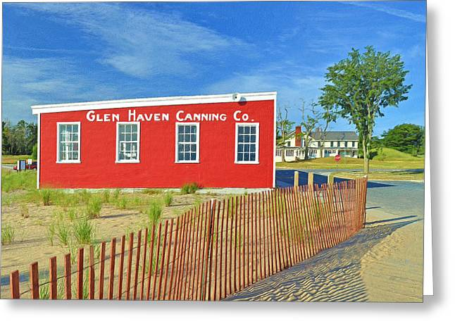Glen Haven Canning Co. Greeting Card