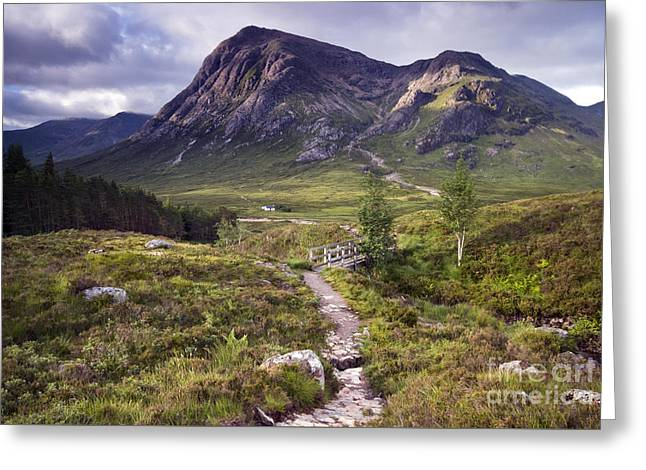 Glencoe Valley Greeting Card