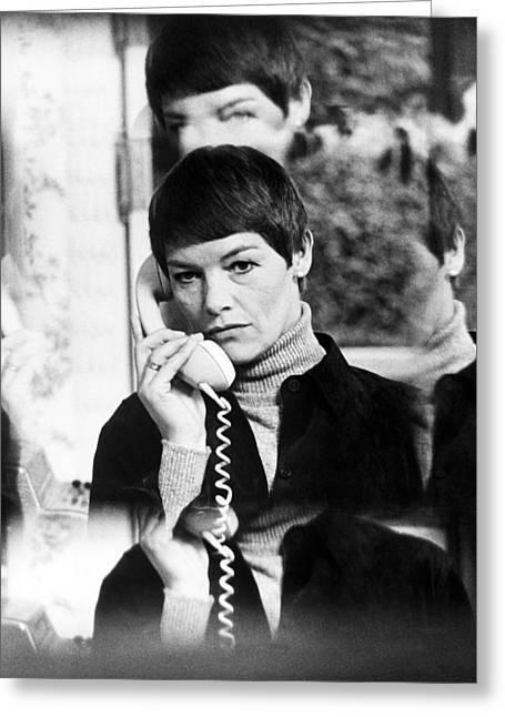 Glenda Jackson In Hopscotch  Greeting Card