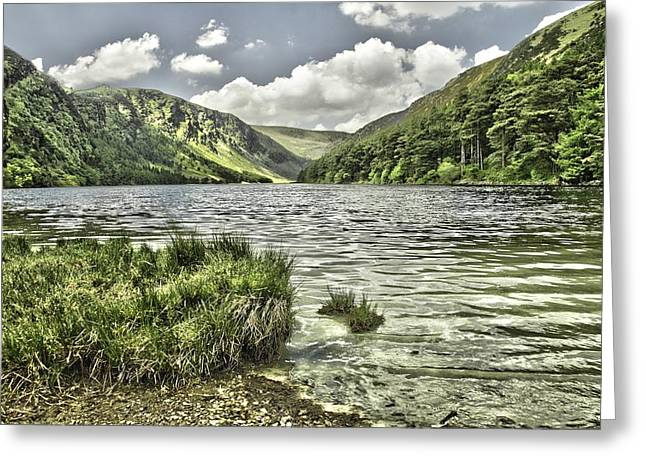 Glendalough Upper Lake Greeting Card