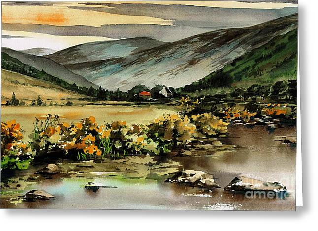 Glenmalure  Valley Greeting Card