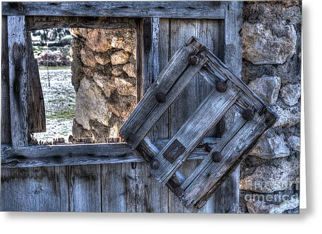 Glimpses Of Times Past Greeting Card by Heiko Koehrer-Wagner