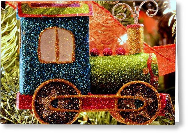Glitter Express Greeting Card