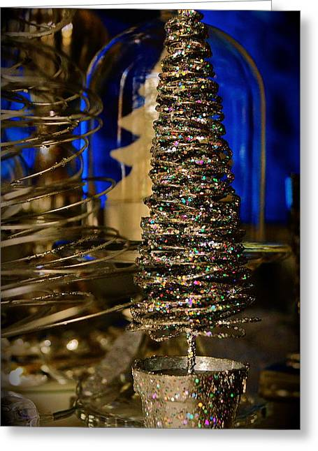 Glitter Tree - Christmas  Greeting Card