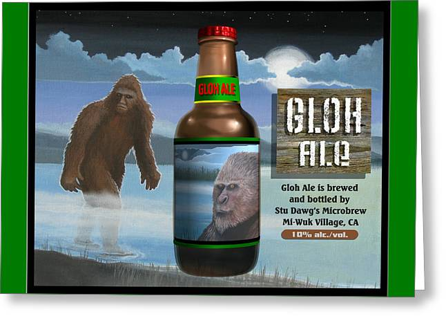 Gloh Ale Greeting Card by Stuart Swartz