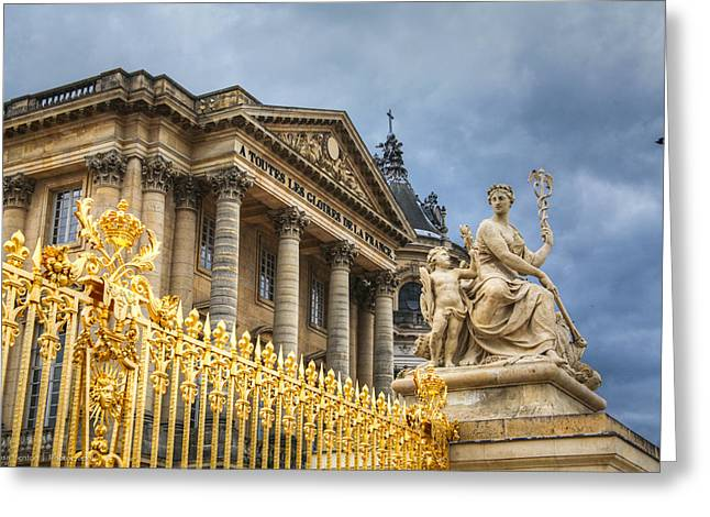 Greeting Card featuring the photograph Gloires De La France by Ross Henton