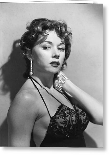 Gloria Grahame Greeting Card by Silver Screen