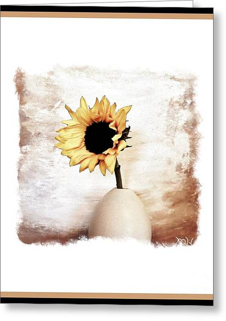 Glorious Sunflower Greeting Card