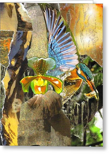 Glory Be To God For Dappled Things Greeting Card