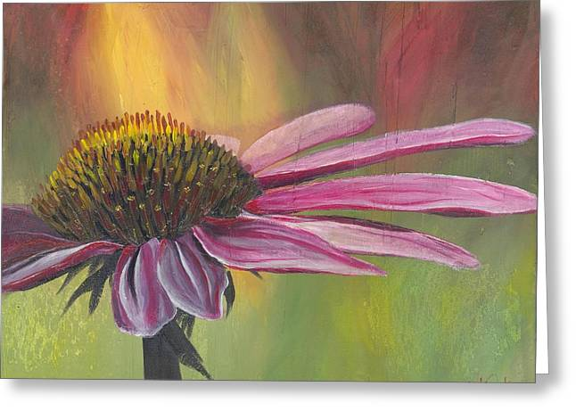 'glory In Bloom' Greeting Card