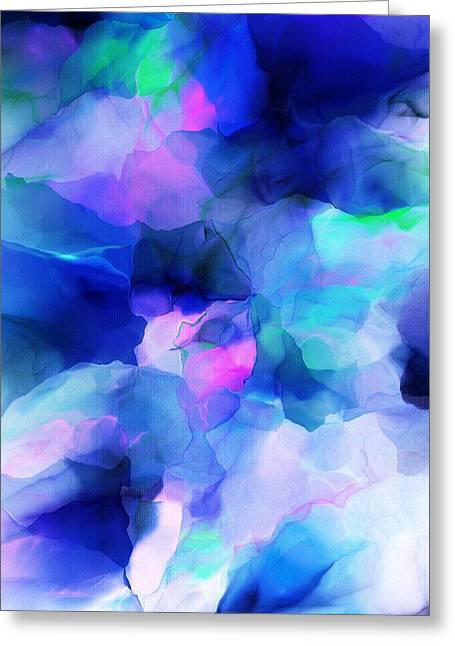 Greeting Card featuring the digital art Glory Morning by David Lane