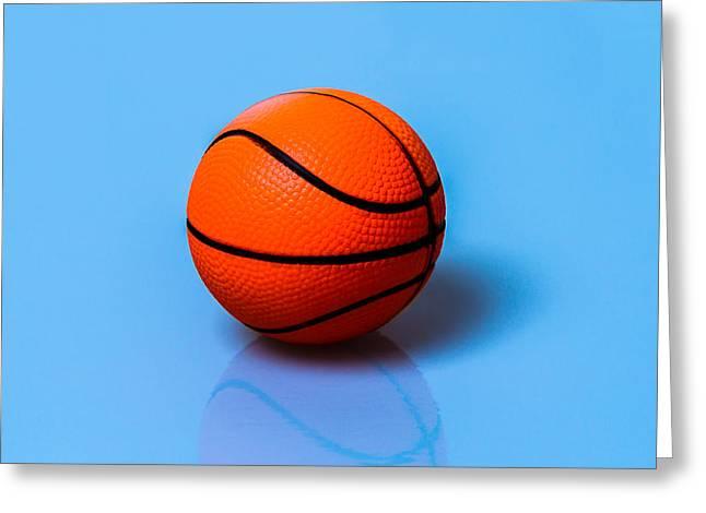 Glory To Basketball Greeting Card by Alexander Senin