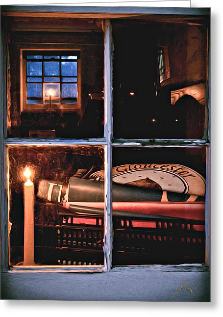 Gloucester By Candlelight Greeting Card