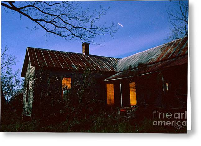 Glowing On The Inside Greeting Card by Craig Dykstra