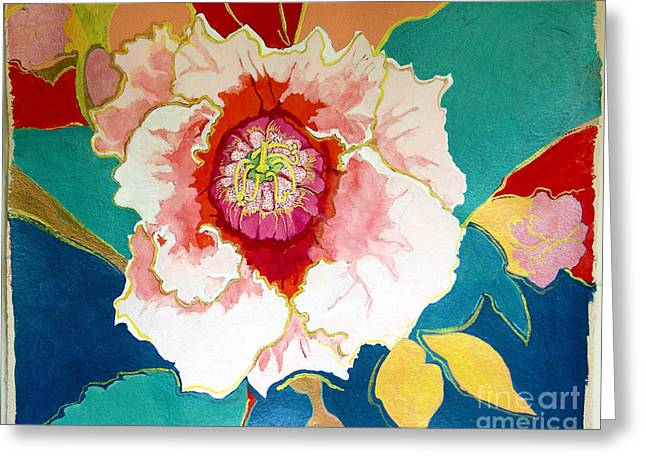 Gloxinia Greeting Card
