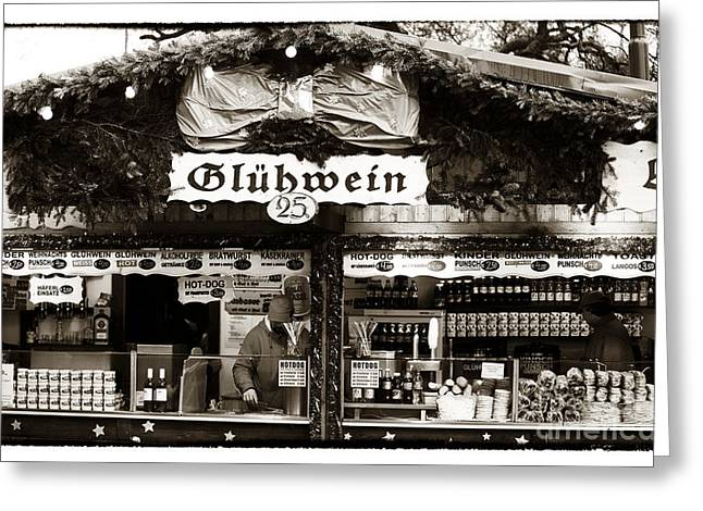 Gluhwein Greeting Card