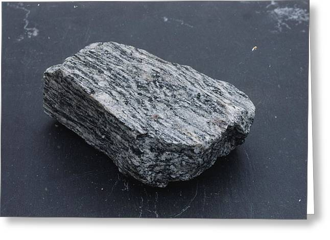 Gneiss, A Metamorphic Rock Greeting Card