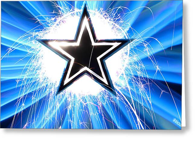 Go Cowboys Greeting Card