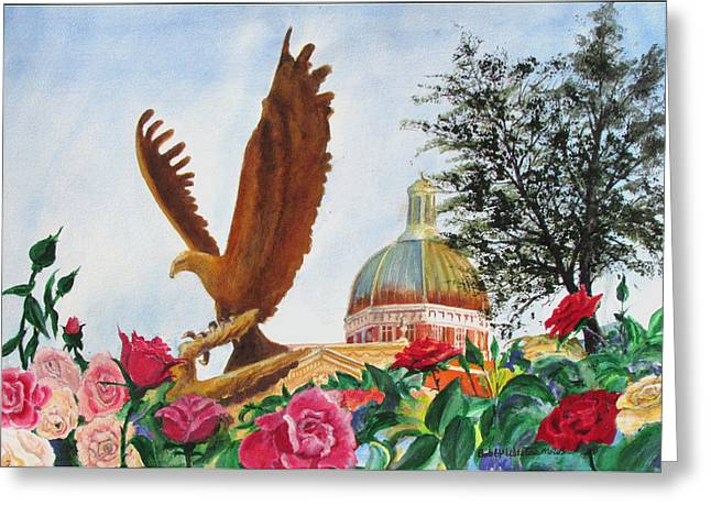 Go Eagles  Greeting Card