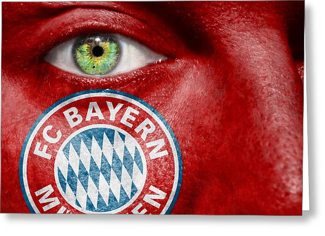 Go Fc Bayern Munchen Greeting Card