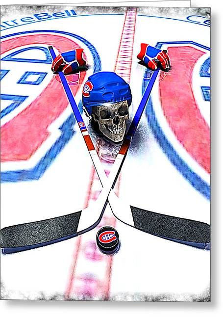 Go Habs Go Greeting Card by Frederico Borges