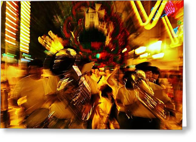 Go Marching In Greeting Card by Jose Carlos Fernandes De Andrade