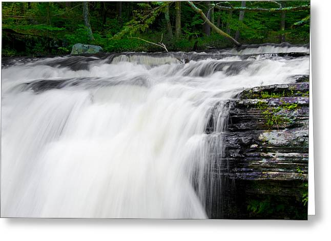 Go With The Flow Greeting Card by Bill Cannon