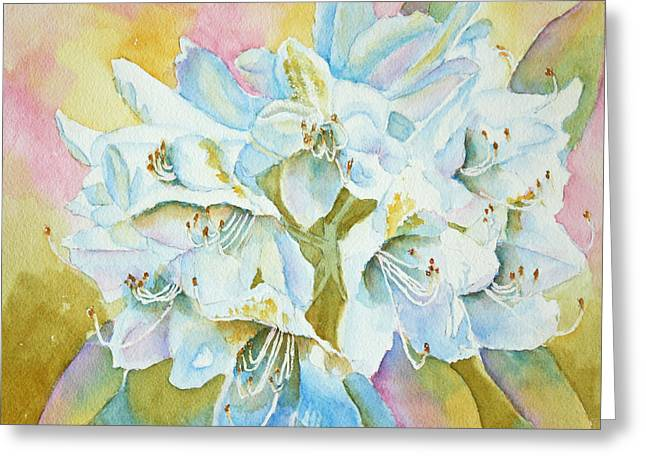 Go With The Glow Greeting Card by Kathryn Duncan