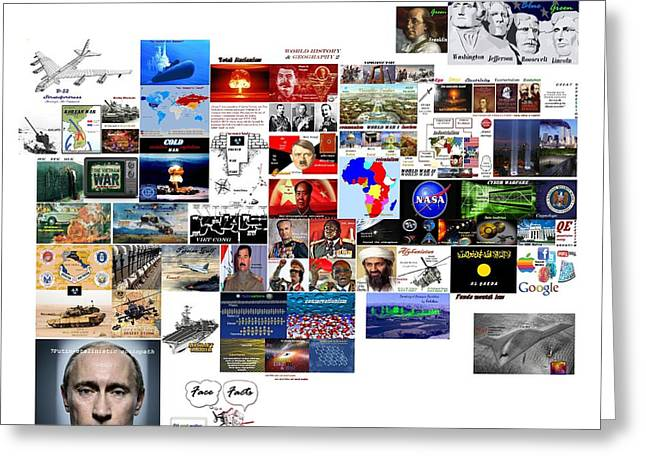 Goal Post Putin Greeting Card