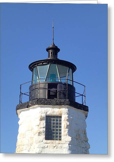 Goat Island Lighthouse Greeting Card