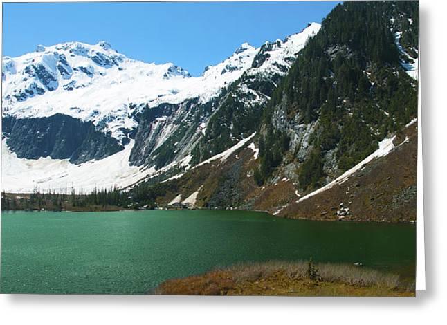 Goat Lake Panorama Greeting Card
