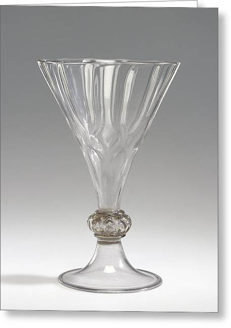 Goblet Kelchpokal Unknown Maker, Façon De Venise, Possibly Greeting Card by Litz Collection