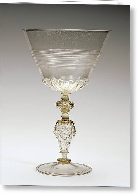 Goblet Unknown Façon De Venise, Netherlands Greeting Card by Litz Collection