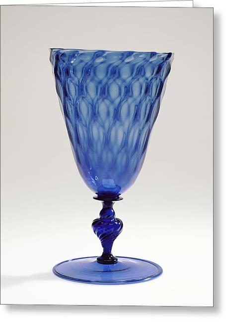 Goblet Unknown Façon De Venise, Netherlands Possibly Greeting Card by Litz Collection
