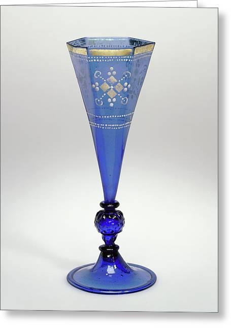 Goblet Unknown Germany, Central Germany Greeting Card