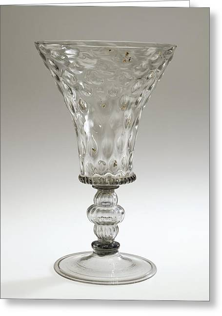 Goblet Unknown Maker, Façon De Venise, Possibly Greeting Card by Litz Collection