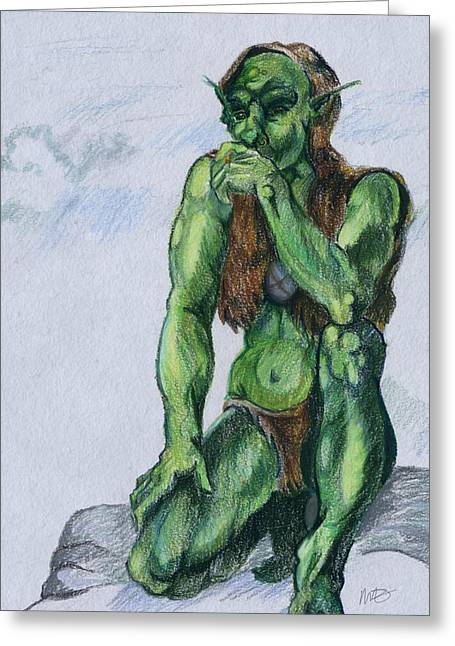 Goblin Greeting Card
