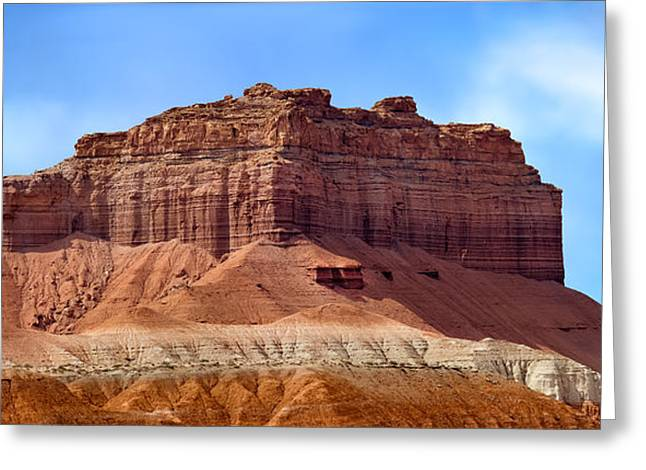 Goblin Valley Pano 2 Greeting Card