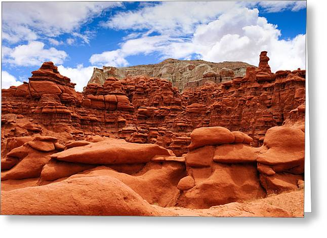 Goblin Valley State Park Greeting Card
